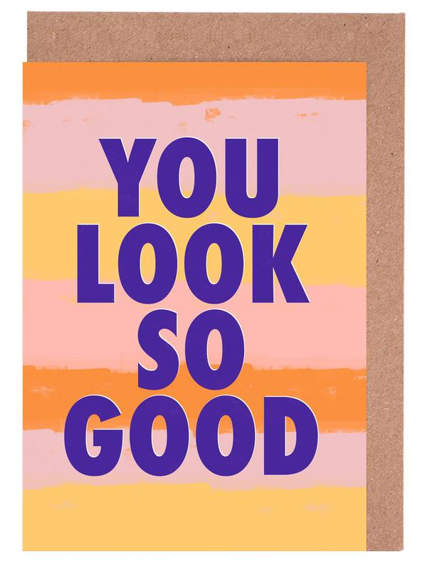 Looking Good Greeting Card Set