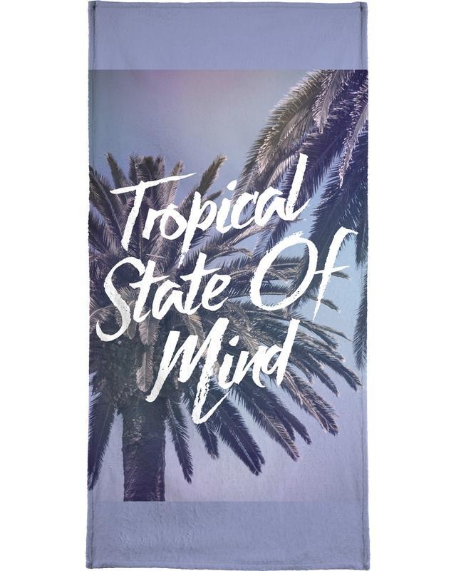 Tropical State of Mind serviette de plage
