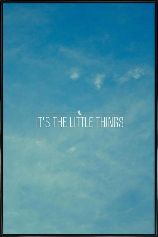 Little Things Framed Poster