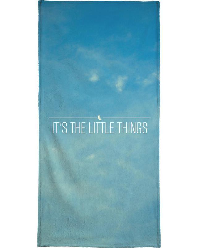 Motivational, Skies & Clouds, Little Things Beach Towel