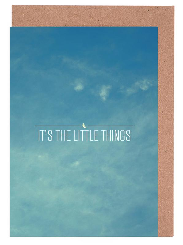 Motivational, Skies & Clouds, Little Things Greeting Card Set