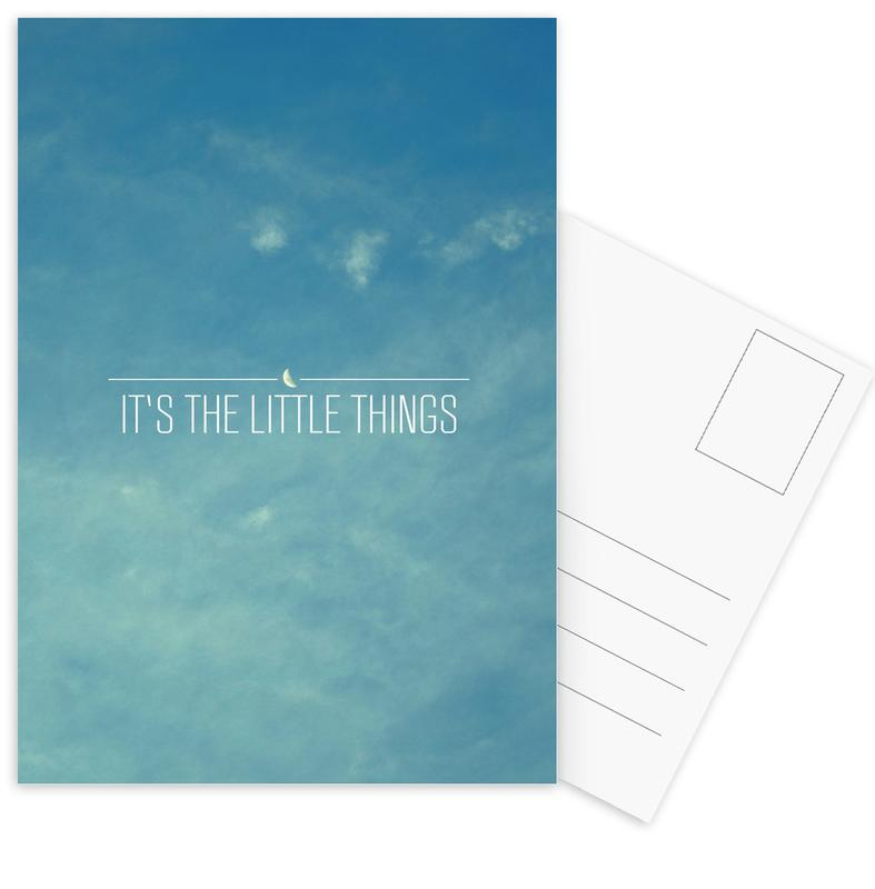 Little Things Postcard Set