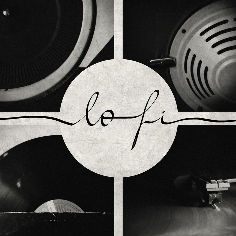Lo-Fi -Acrylglasbild