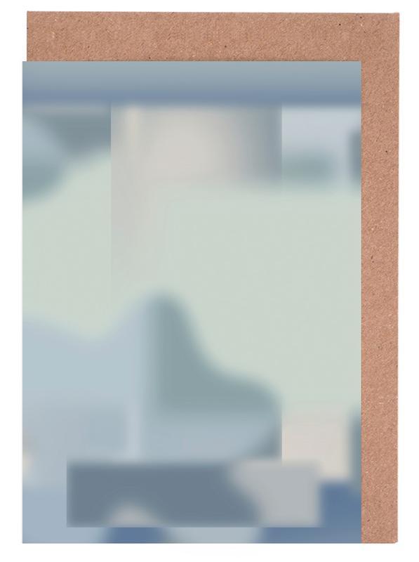 Yoga, Existence II Gradient -Grußkarten-Set