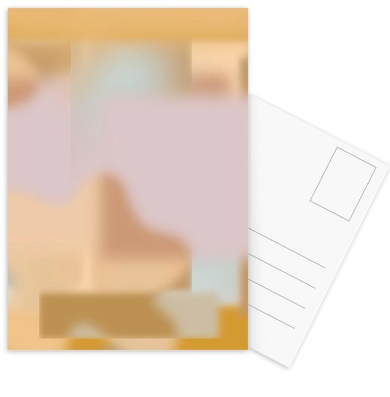 Yoga, Existence III Gradient cartes postales