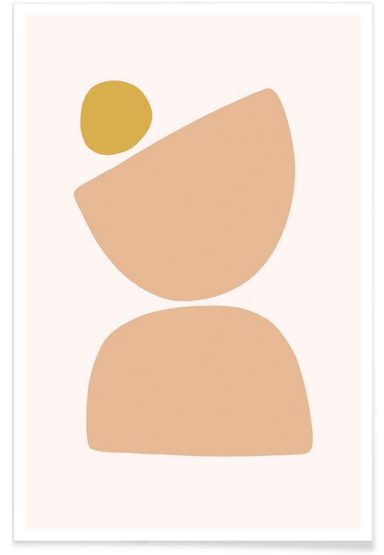 Feuilles & Plantes, Balance 1 affiche