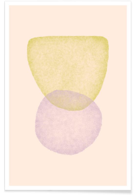 Feuilles & Plantes, Equilibrium 3 affiche