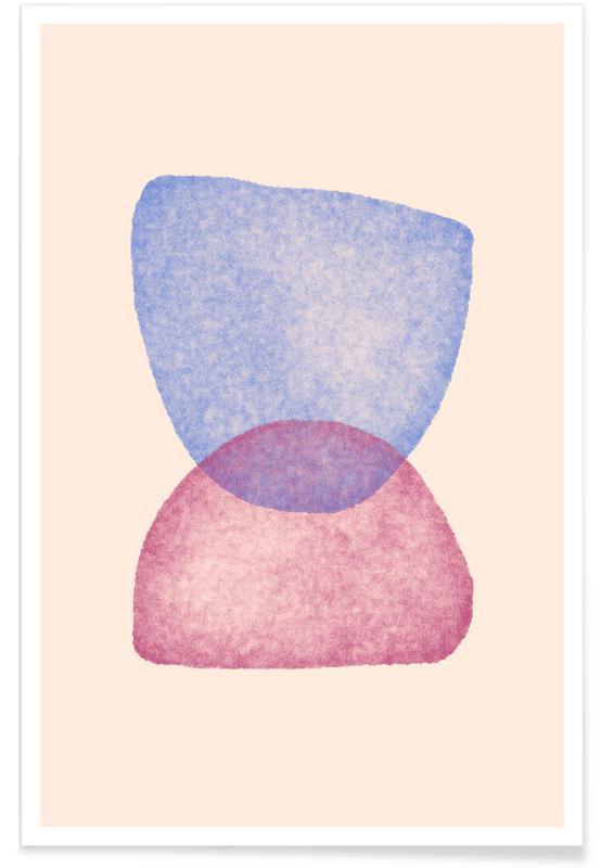 Feuilles & Plantes, Equilibrium 4 affiche