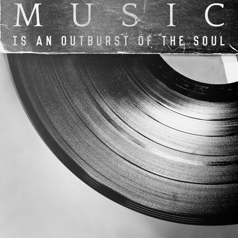 Outburst -Acrylglasbild