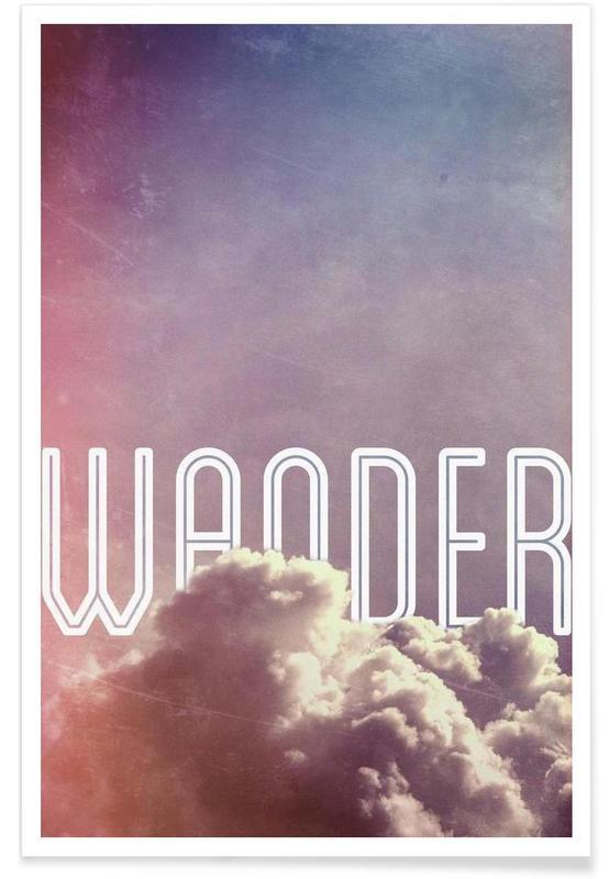 Ciels & nuages, Wander affiche