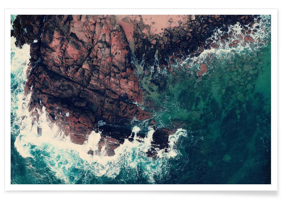 Oceanen, zeeën en meren, Emerald Green Sea poster