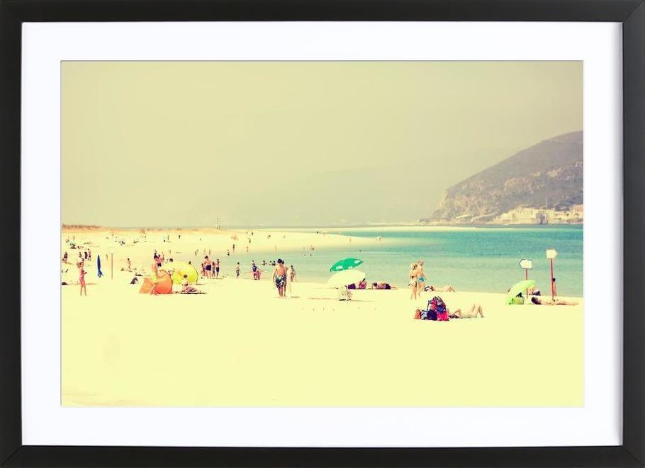 summer fun ingelijste print