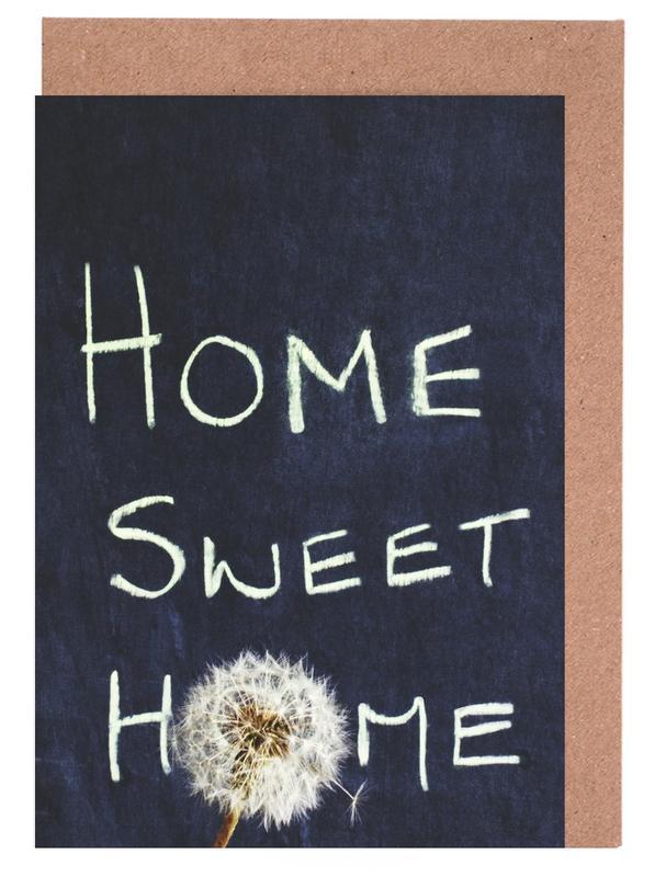 Home Sweet Home cartes de vœux