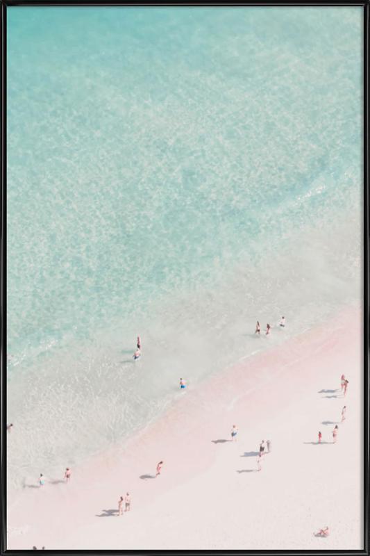 Beach Love ingelijste poster