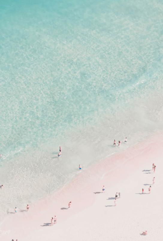 Beach Love alu dibond