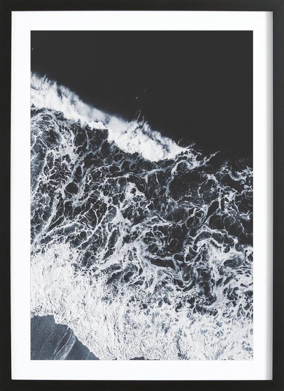 Sea Lace -Bild mit Holzrahmen