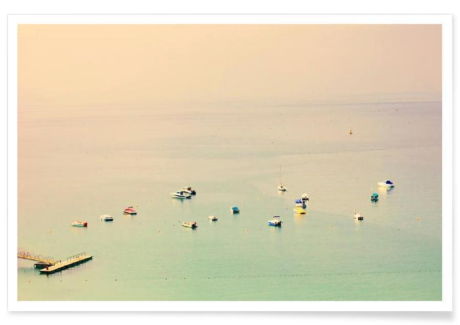 Océans, mers & lacs, the sea affiche