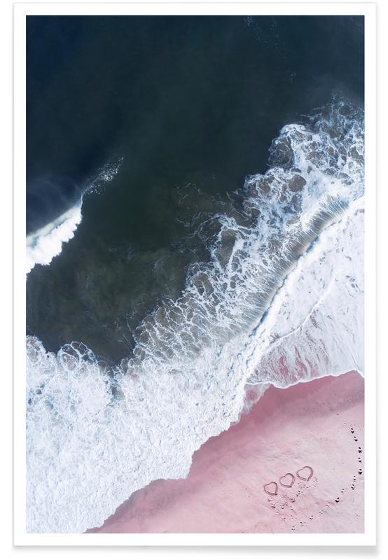 Plages, Océans, mers & lacs, I Love the Sea - Heart and Soul affiche