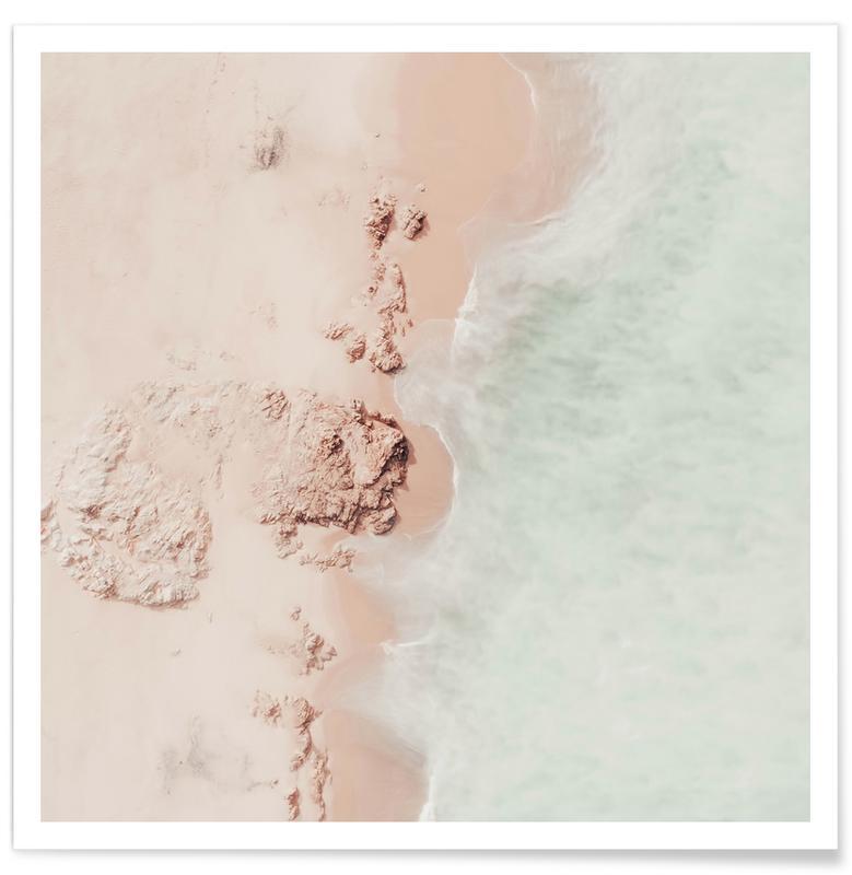 Plages, Océans, mers & lacs, Ocean Mint Champagne affiche