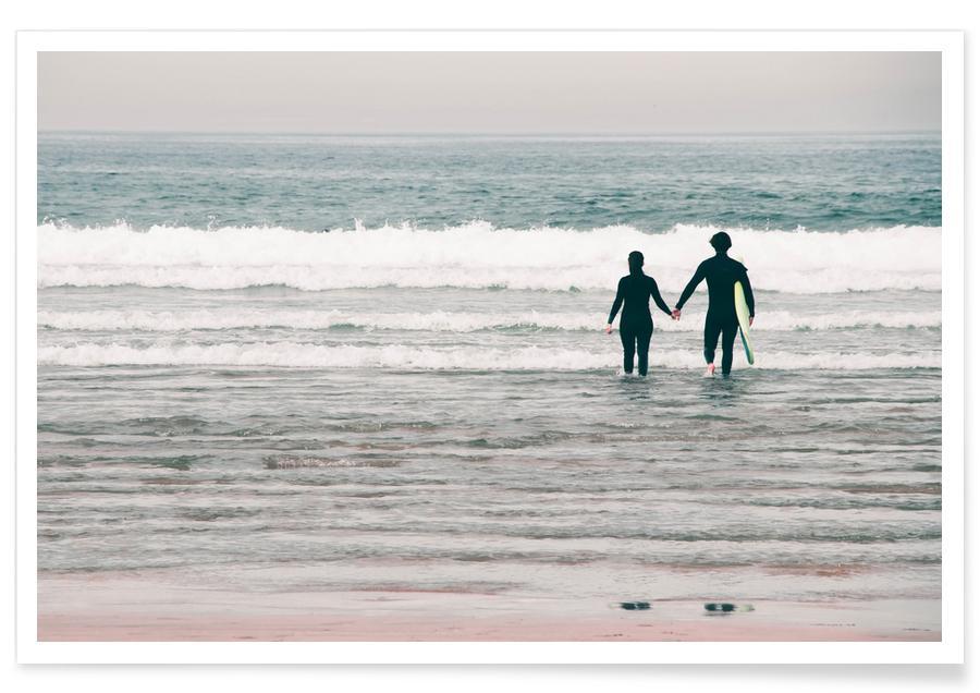 Couples, Océans, mers & lacs, Surf, Surf Love affiche