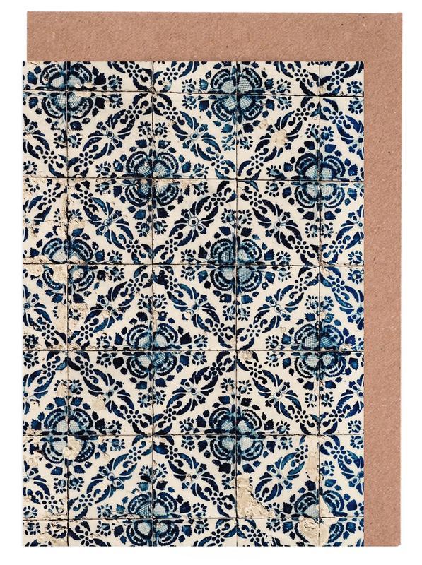 Azulejos -Grußkarten-Set