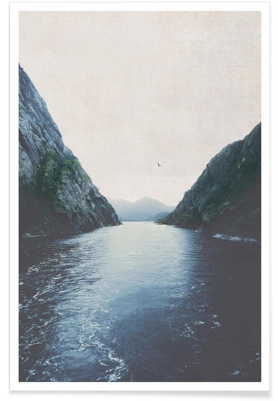Ocean, Lake & Seascape, Finding Inner Peace Poster