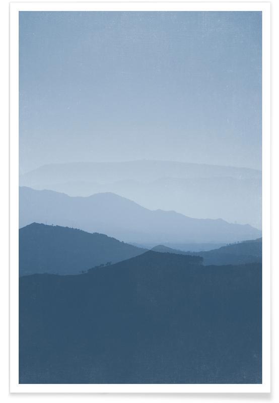 Berge, Morning Blues -Poster
