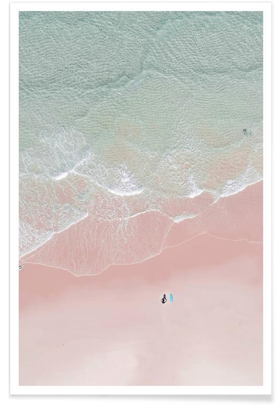 Surfing, Yoga, Hav, sø & havlandskab, Strande, Surf Yoga Ii Plakat