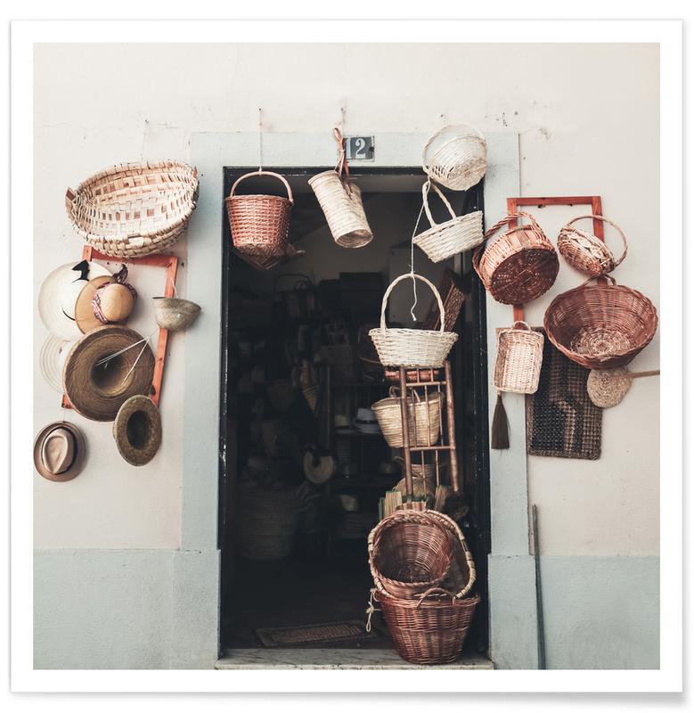 Architectonische details, The Basket Shop poster