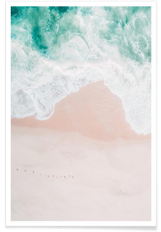 Ozeane, Meere & Seen, Strände, Ocean Mint -Poster