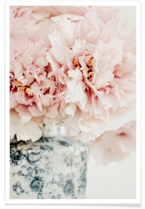 , Peonies In A Vase -Poster