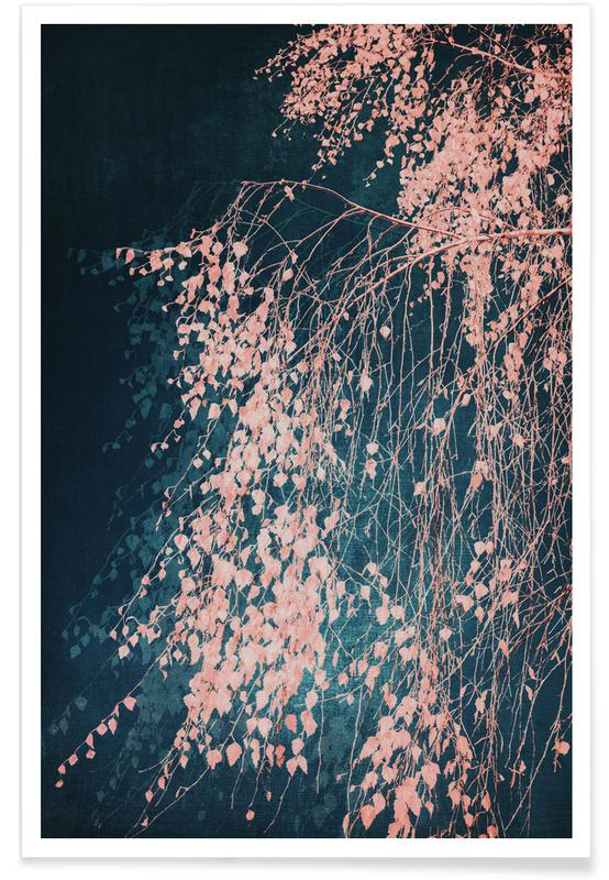 Bomen, Whispers Of Dusty Pink poster