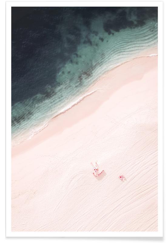 Océans, mers & lacs, Paysages abstraits, Plages, Beach Candy affiche