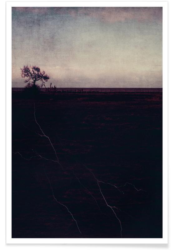 Arbres, Montagnes, Forêts, Feuilles & Plantes, Roots affiche