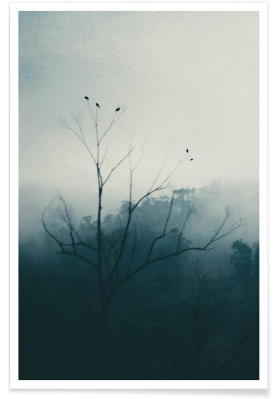 Bladeren en planten, Bossen, Bergen, Bomen, Morning Bird Song poster