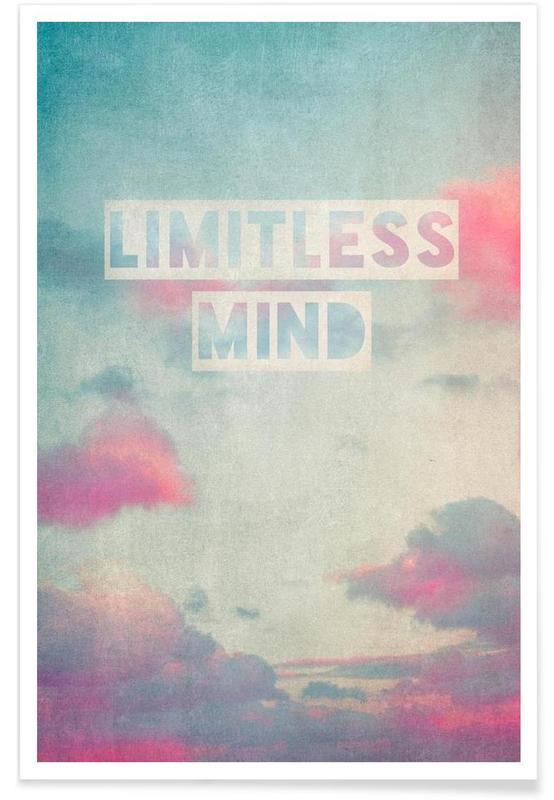 Citations et slogans, limitless mind affiche