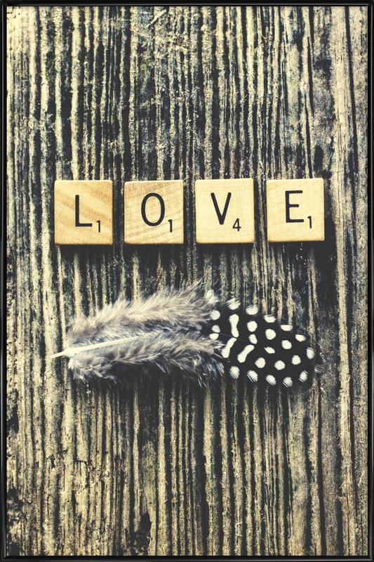 love Framed Poster