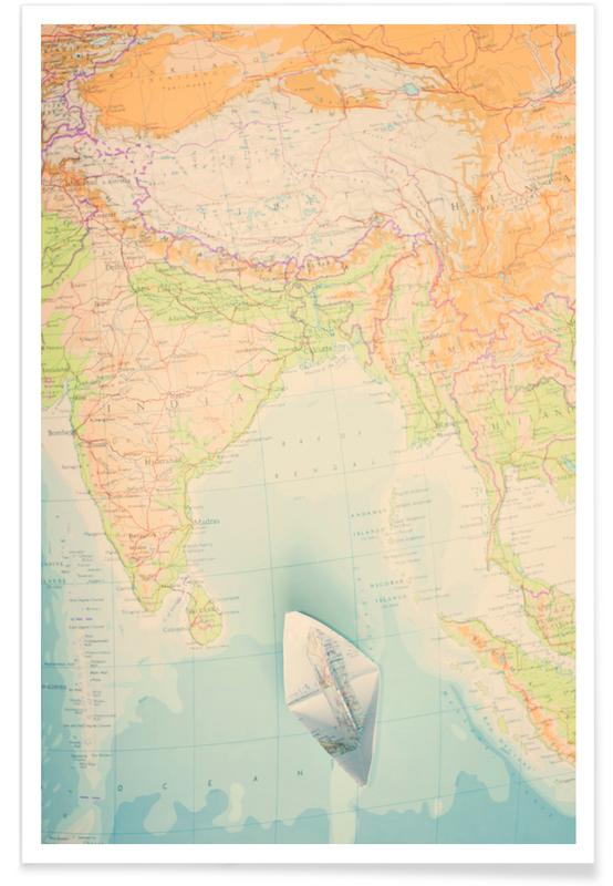 map-india Poster
