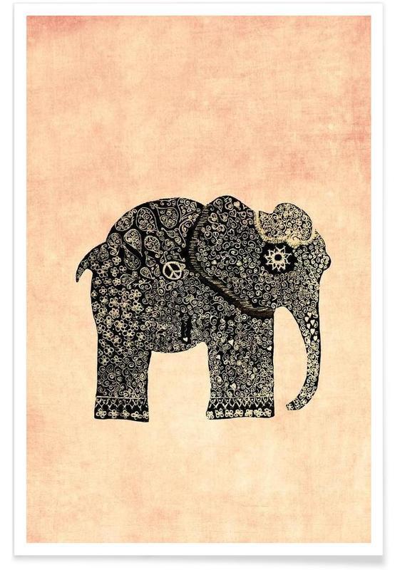 Éléphants, Boho Ella affiche