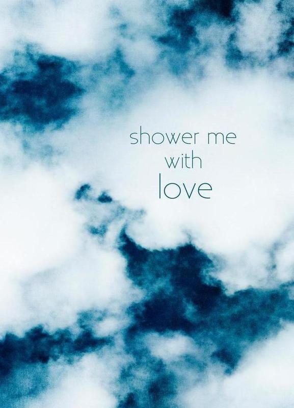 Shower Me With Love Canvas Print