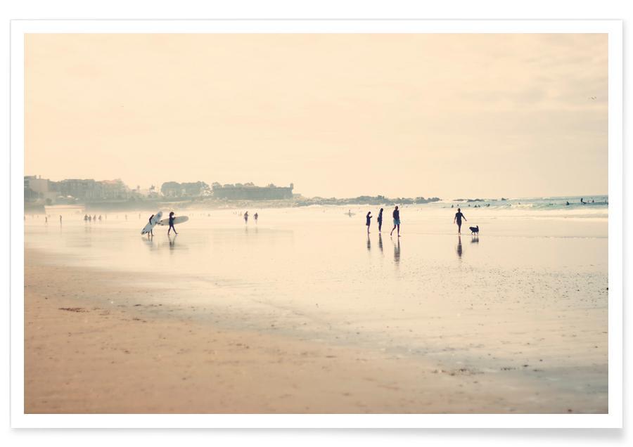 Stranden, Beach Life I poster