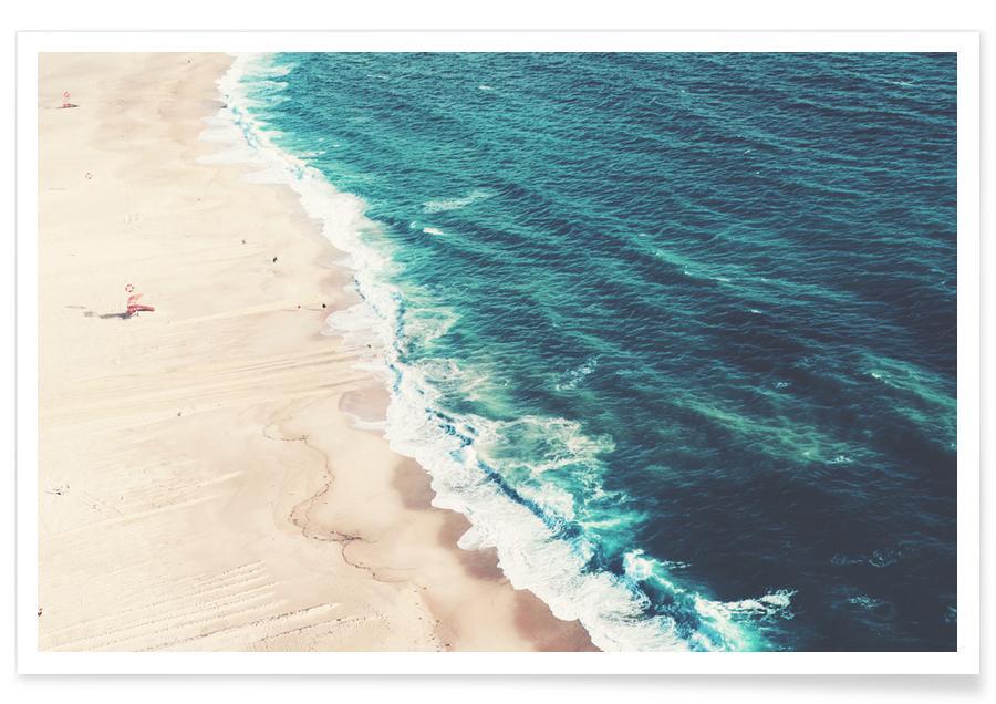 Strände, Nazare Beach -Poster
