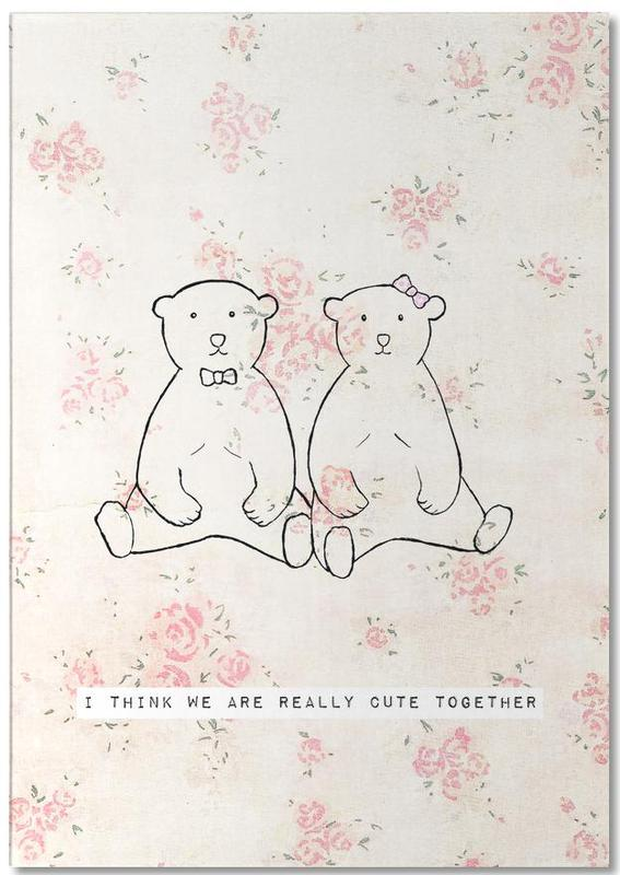 I Think We Are Really Cute Together bloc-notes