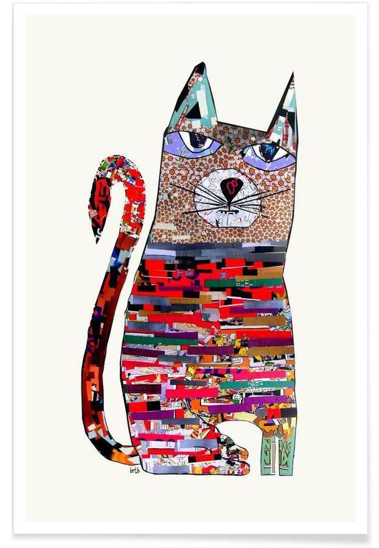 Chats, pepper cat affiche