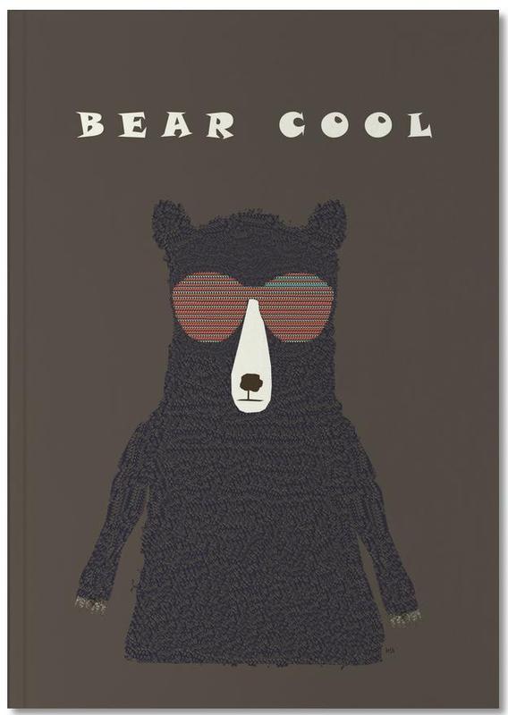 Bären, bear cool Notebook