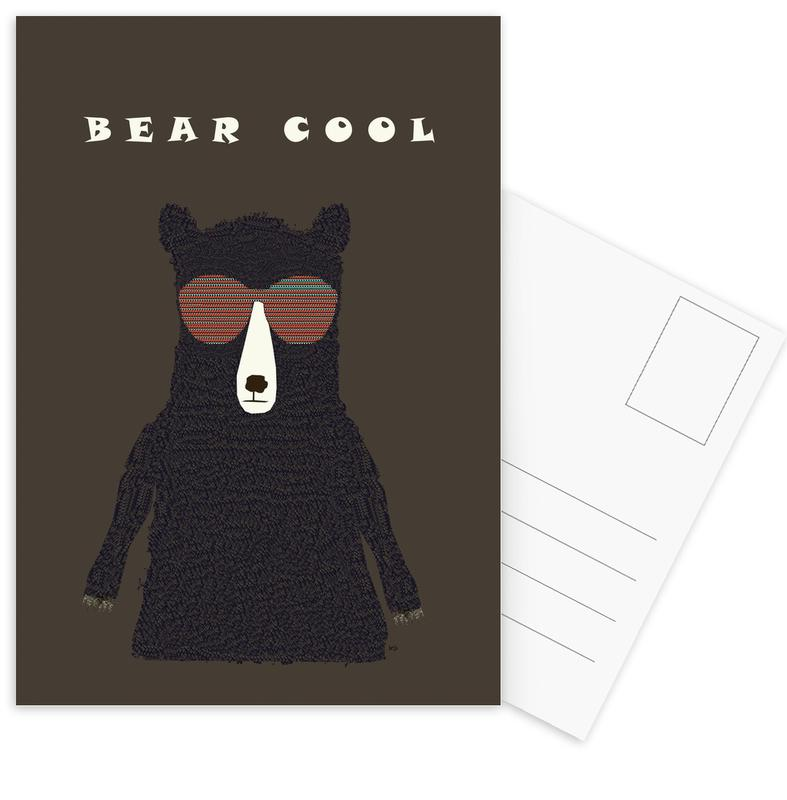 Ours, bear cool cartes postales