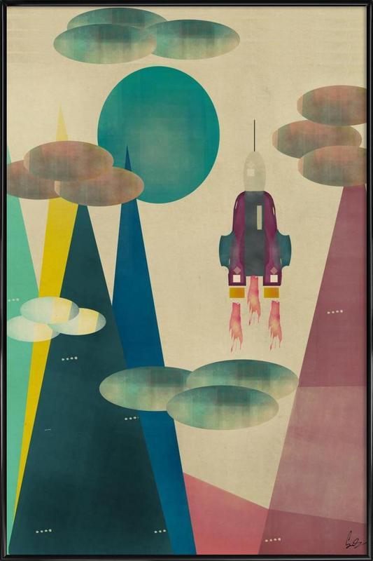 life on mars Framed Poster