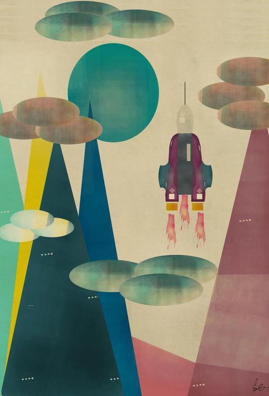 life on mars Acrylic Print