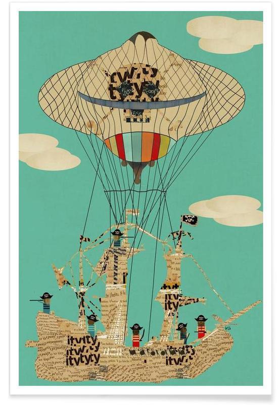 sky pirates affiche