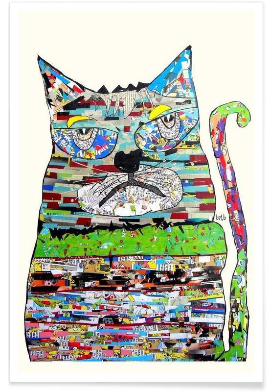 Katzen, jam cat -Poster